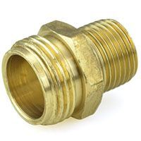 Garden Hose Fittings. Male GH X MIP Adapters