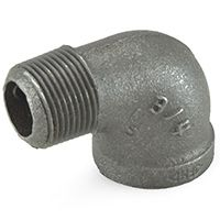 Black Malleable Pipe Fittings, Domestic & Imported - PexUniverse