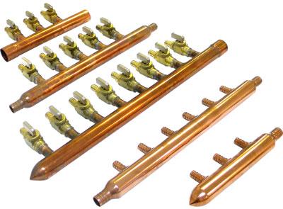 Pex Plumbing Manifold Copper Or Plastic