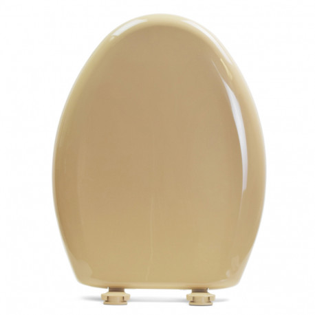 Awe Inspiring Bemis 1200Slowt Sand Premium Plastic Soft Close Elongated Toilet Seat Dailytribune Chair Design For Home Dailytribuneorg