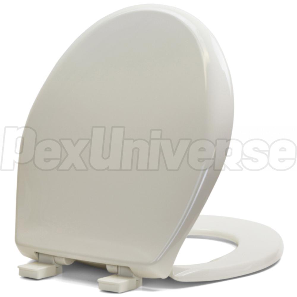 Brilliant Bemis 200E4 Biscuit Linen Premium Plastic Soft Close Round Toilet Seat Pdpeps Interior Chair Design Pdpepsorg