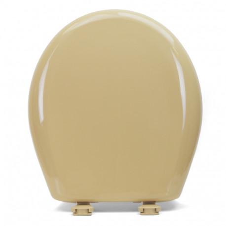 Fine Bemis 200Slowt Sand Premium Plastic Soft Close Round Toilet Seat Ncnpc Chair Design For Home Ncnpcorg