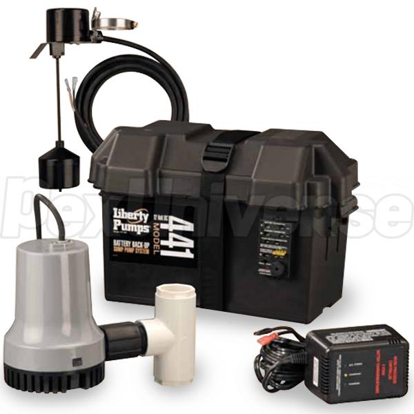 Liberty Pumps 441 12V Battery Back-Up Sump Pump System