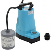 5-ASP-FS Automatic Submersible Utility/Sump Pump w/ Wide Angle Float Switch  and 10' cord, 1/6 HP, 115V
