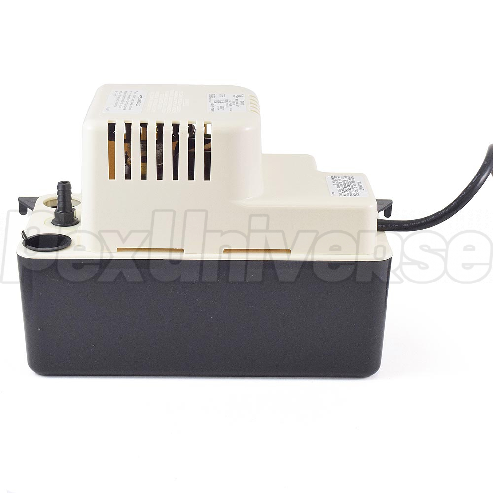 Little Giant 554415 65 Gph 115v Automatic Condensate Removal Pump Bugzapper1 Circuit Schematic Diagram With Safety Switch And 20ft