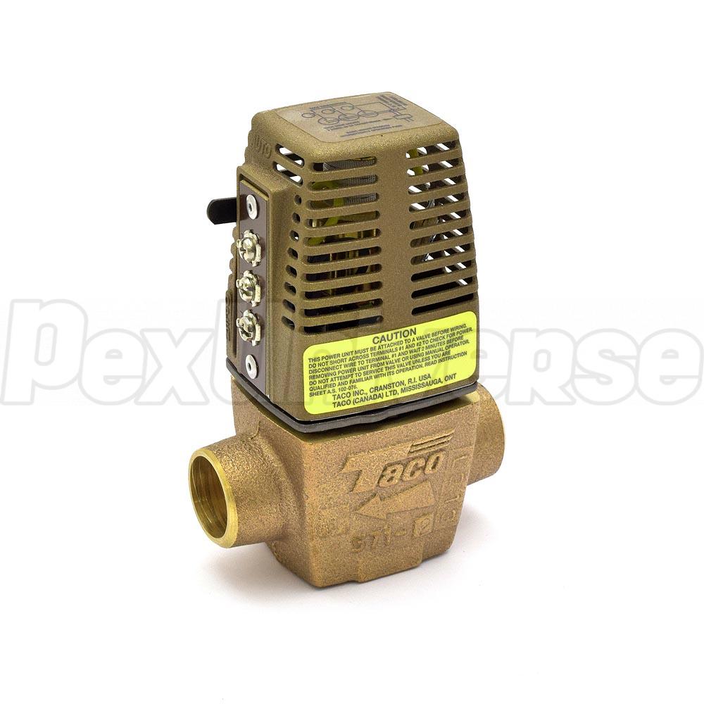Taco 571 2 3 4 Sweat Zone Valve Pexuniverse Wiring Diagram Brand