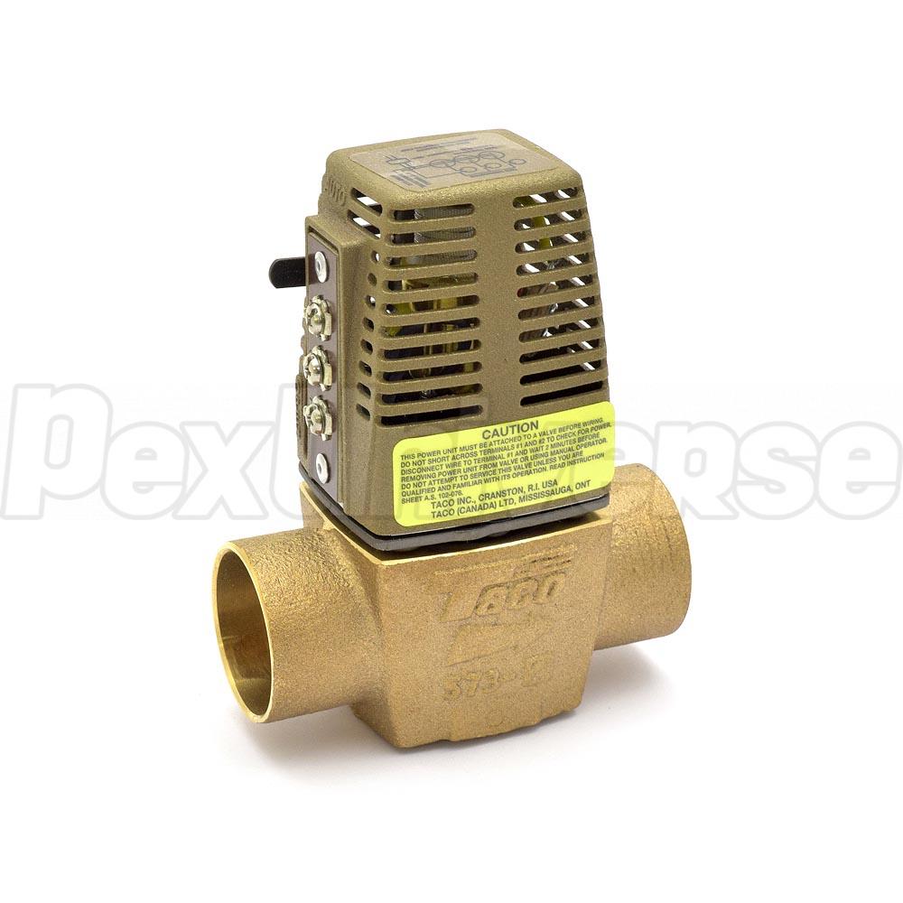 Taco 573 2 1 4 Sweat Zone Valve Pexuniverse Wiring Multiple Valves