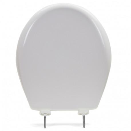 Superb Bemis 790Tdgsl White Hospitality Plastic Round Toilet Seat W Soft Close Duraguard Heavy Duty Machost Co Dining Chair Design Ideas Machostcouk