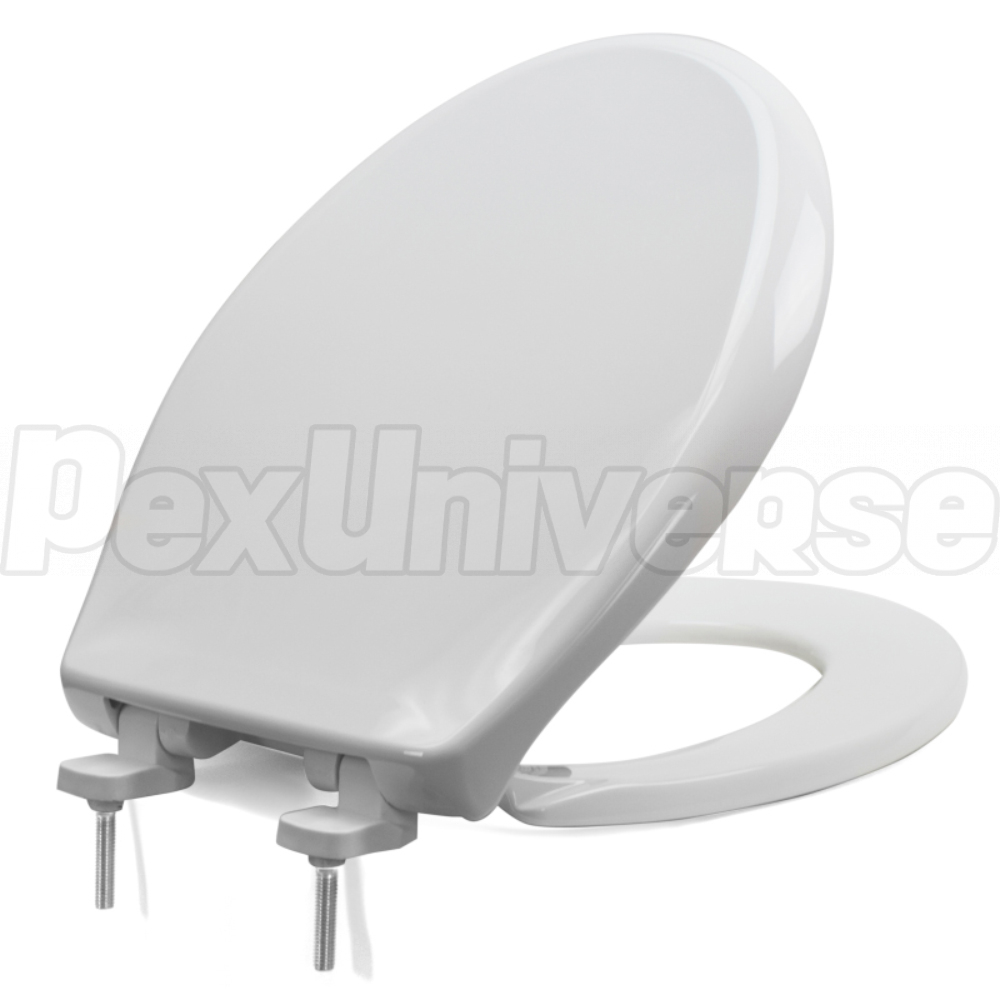 Excellent Bemis 790Tdgsl White Hospitality Plastic Round Toilet Seat W Soft Close Duraguard Heavy Duty Pdpeps Interior Chair Design Pdpepsorg