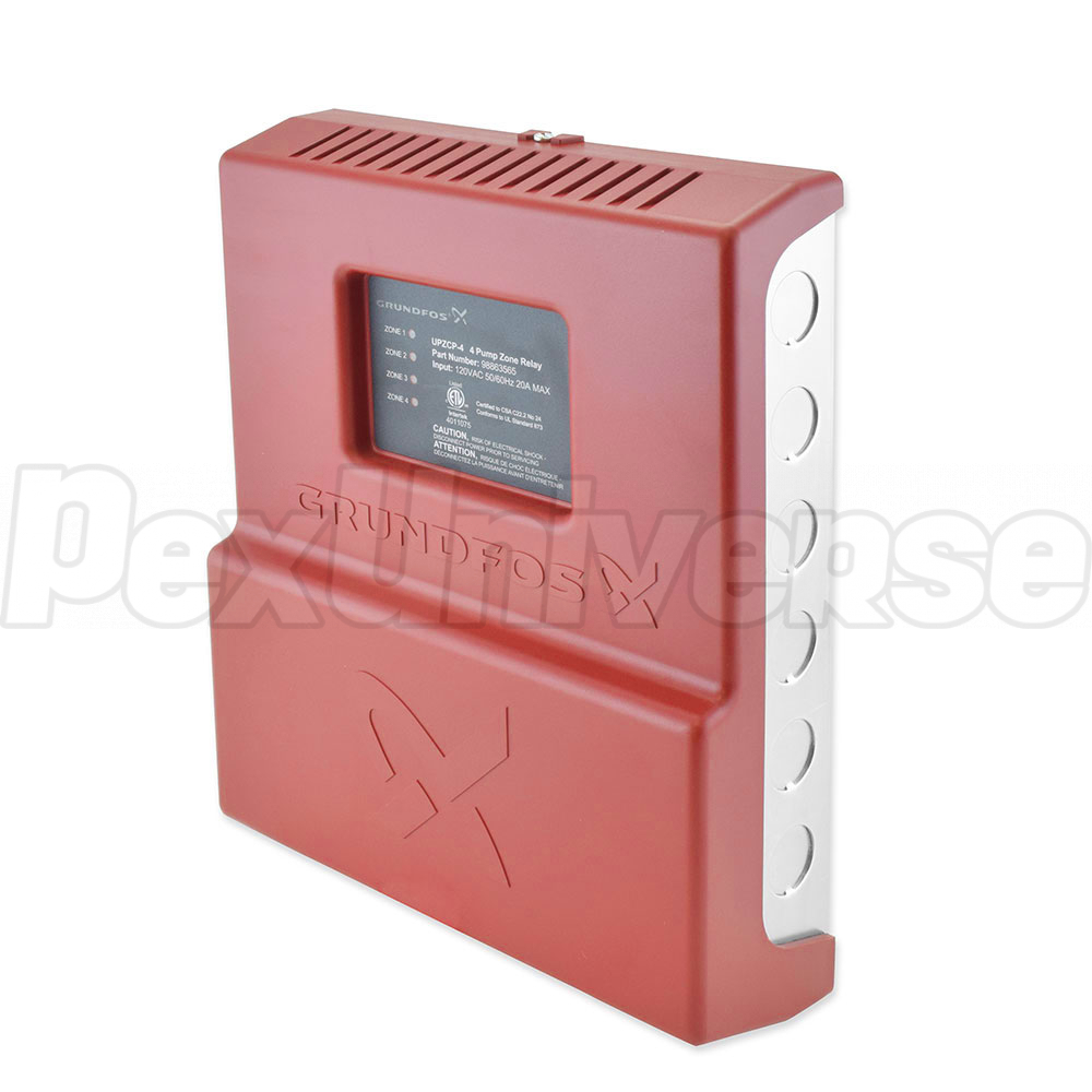 UPZCP-4, 4-Zone Pump Control, Expandable