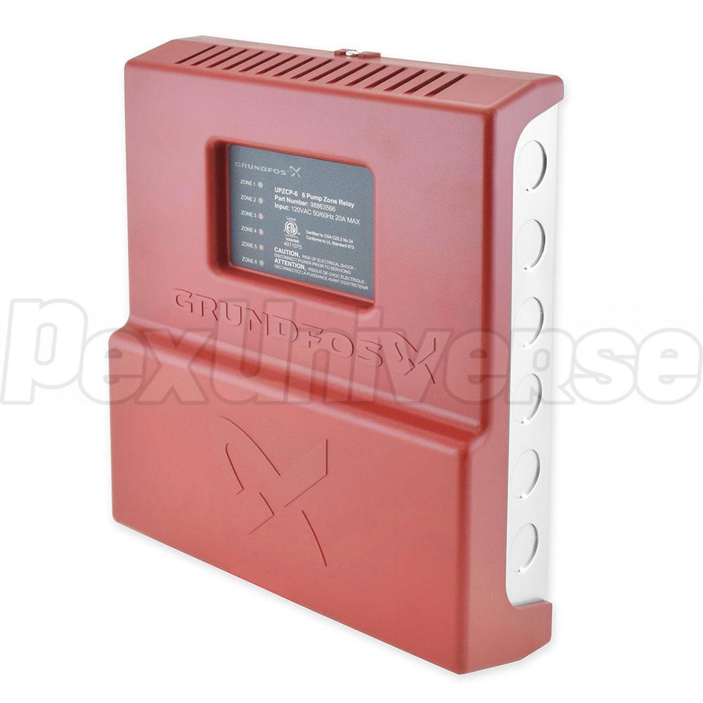 Grundfos Upzcp 6 98996435 Six Zone Pump Control Pexuniverse Controller Wiring Diagram Expandable
