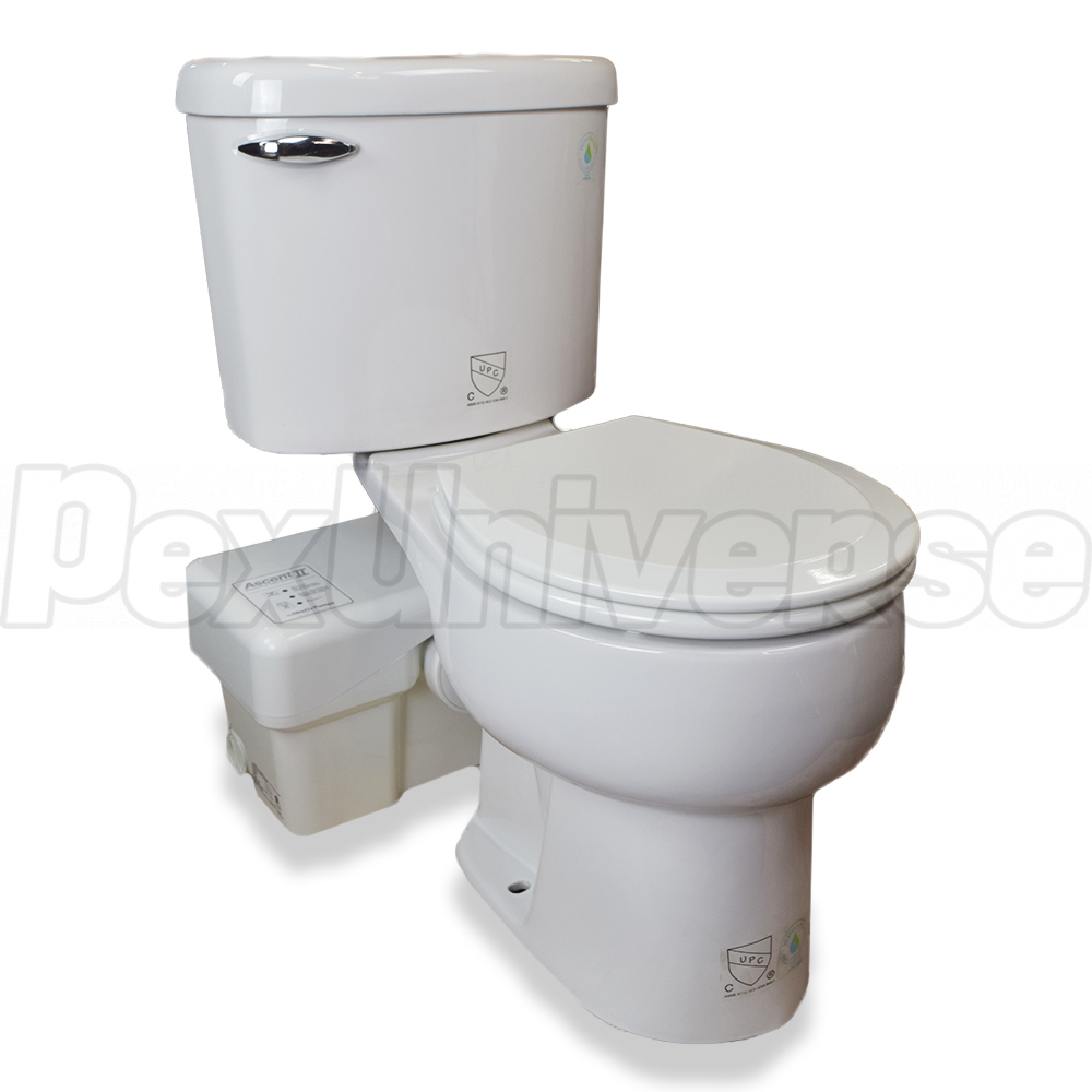 Liberty Pumps Ascentii Rsw Complete Macerating Toilet