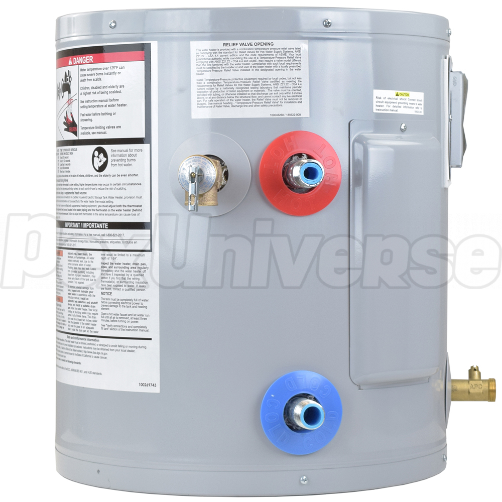 Ao Smith Ejcs 20 Electric Water Heater Pexuniverse Wiring Diagram 19 Gal Proline Compact Utility 120v Brand