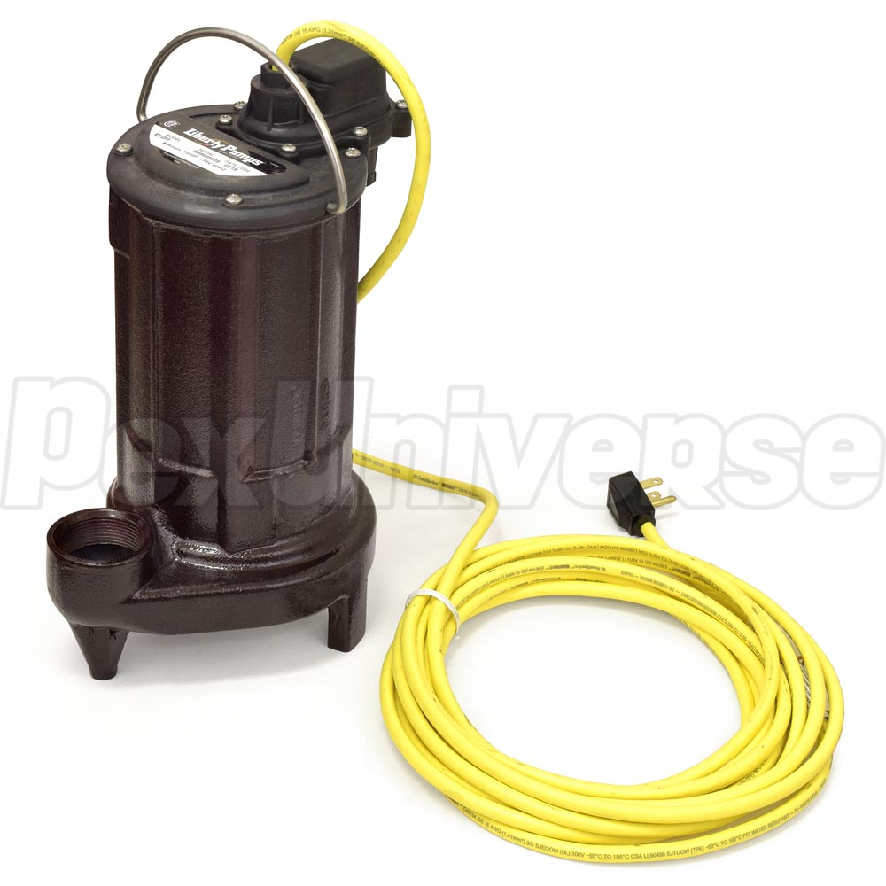 Liberty Pumps Elv280hv Elevator Sump Pump System Pexuniverse Wiring Automatic W Oiltector Control 1 2 Hp 230v