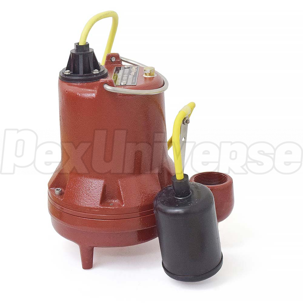 Liberty Pumps Ht41a Automatic High Temperature Sump Pump Pexuniverse Float Switch Wiring 200f W Piggyback Wide Angle 10 Cord 4 Hp 115v