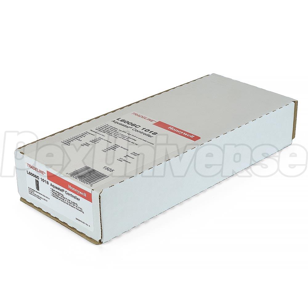 High Limit/Low Limit/Circulator Strap-on Aquastat, 5-30F Differential,  65F-200F. Brand: Honeywell. Part#: L6006C1018