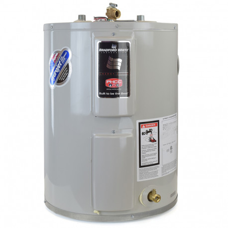 Bradford Water Heater >> 47 Gal Lowboy Top Connections Electric Water Heater W Insulation Blanket 6 Yr Wrty