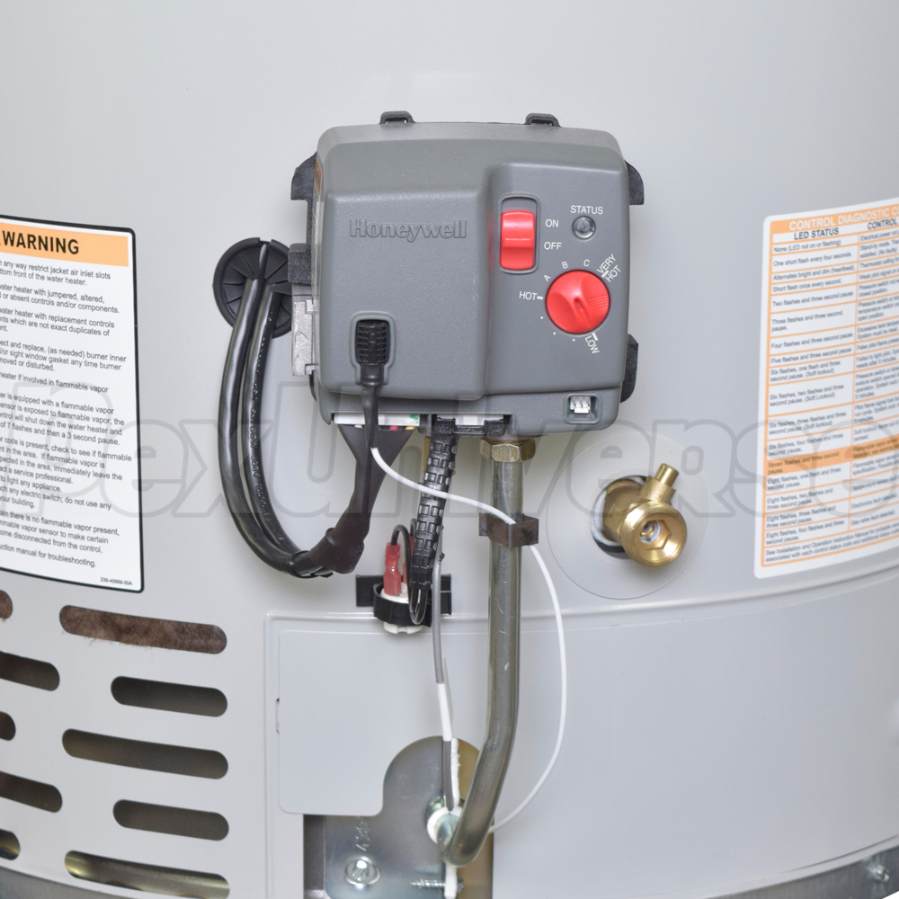 Bradford White Rg1pv55h6n Power Vent Gas Water Heater