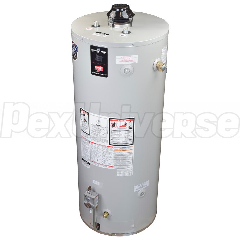 Bradford White Water Heaters >> 100 Gal Defender Atmospheric Vent Water Heater Ng 6 Yr Wrty