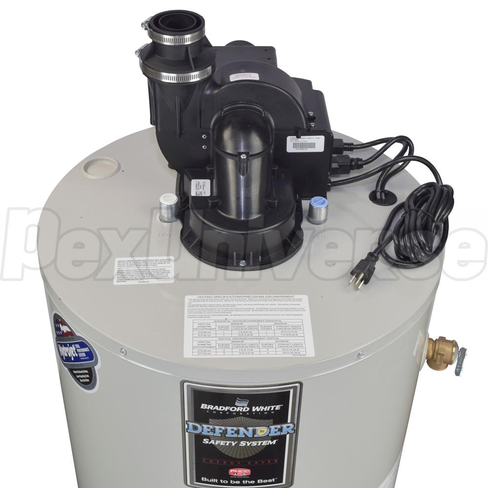 bradford white rg2pv40t6n power vent gas water heater pexuniverse rh pexuniverse com Electric Water Heater Element Wiring Electric Water Heater Thermostat Wiring