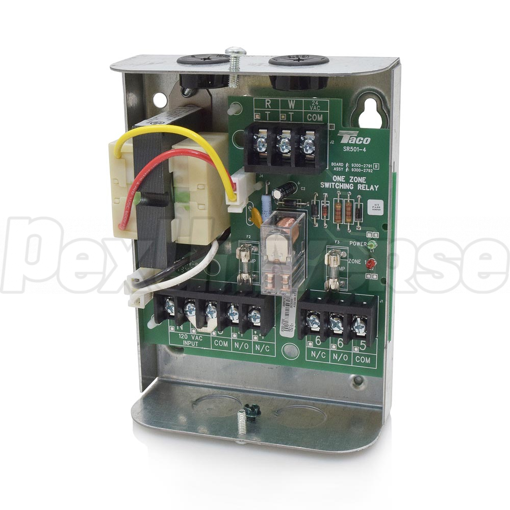 Taco Sr501 Wiring Relay Bgmt Data Aquastat 4 1 Zone Switching Pexuniverse Rh Com Honeywell Boiler