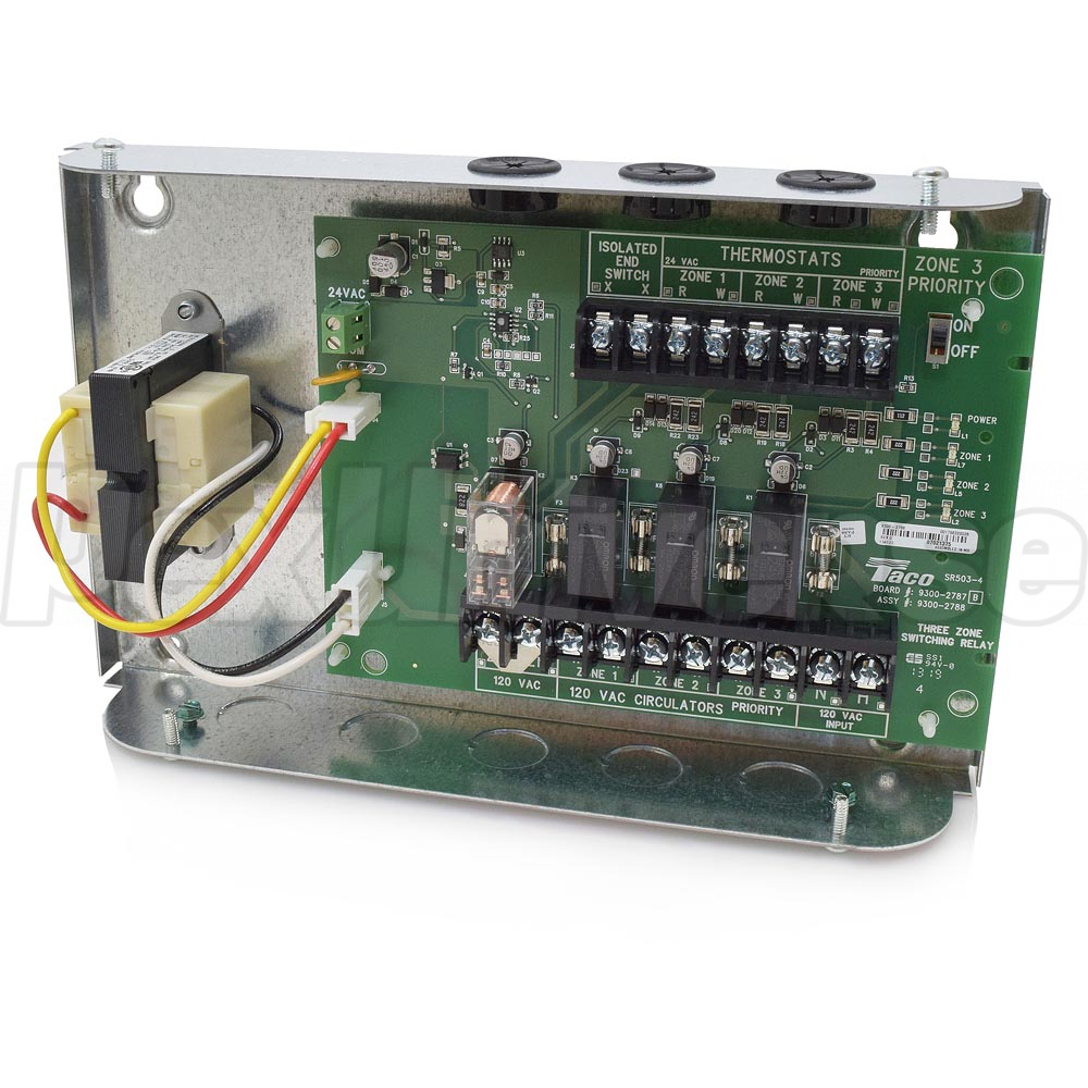 3-Zone Switching Relay w/ Priority