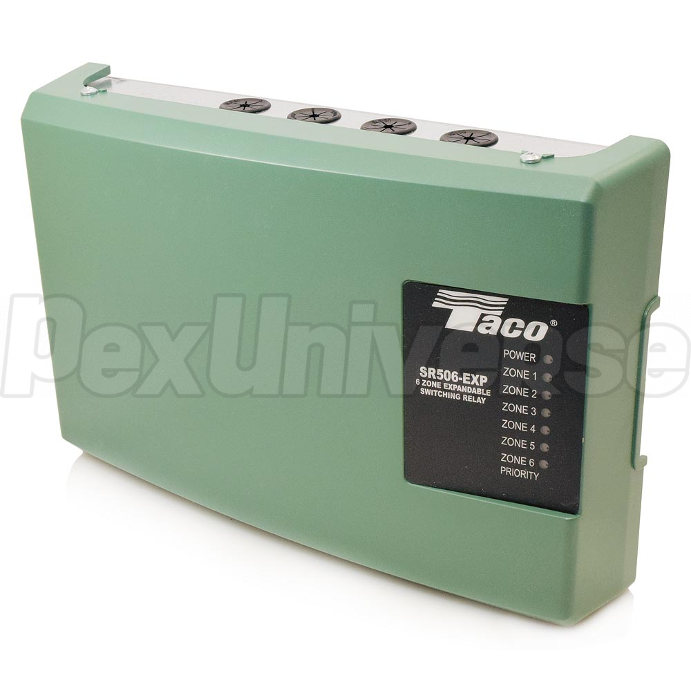 Taco Sr506 Exp 4 6 Zone Switching Relay Expandable